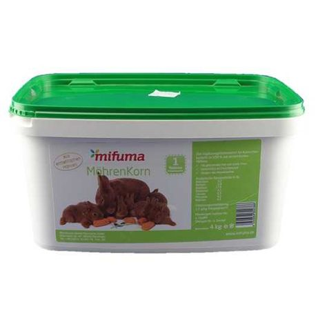 MIFUMA Möhrenkorn 4kg- 100%MARCHWI