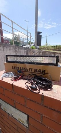 Barras LED curva 54cm / 22 polegadas 270W COMBO