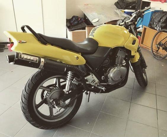 CB 500 em otimo estado ou troca cafe racer 125cc