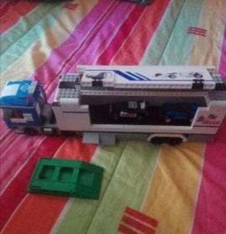 Camião corridas tipo Lego City