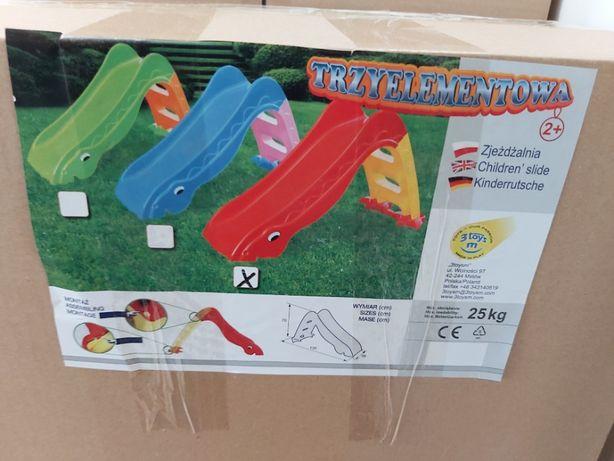 Nowa zjeżdżalnia Dino dla dzieci,ślizgawka dinozaur,dł.ślizgu 110 cm