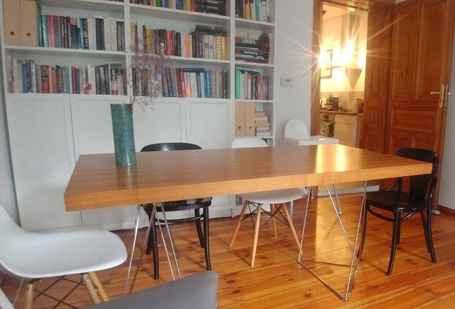 Stół/biurko z metalowymi nogami w stylu loftowym 90X160