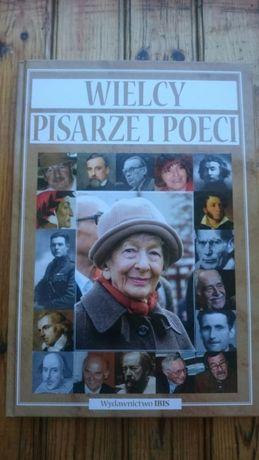 Książka Wielcy pisarze i poeci - IBIS, album, nowa na prezent