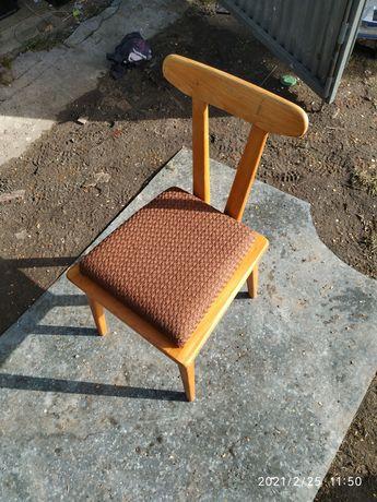 Krzesło ŁAD zydel prl loft