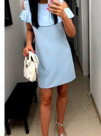 Elegancka sukienka Liven hiszpanka