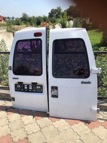 Продам фіат скудо задні двері вікна передні двері