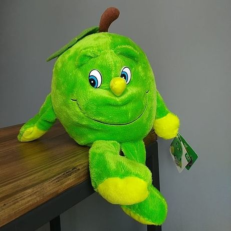 Игрушка зелёное яблоко Эмиль