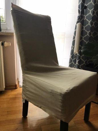eleganckie pokrowce na krzesło, 4 sztuki