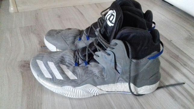 Adidas koszykarskie rozmiar 46 dl wkładki 28,5 cm