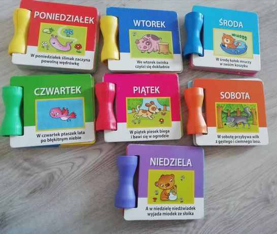 Książki dla dzieci na każdy dzień tygodnia