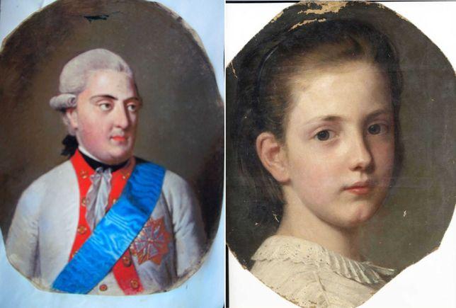 Генеалогические портреты династии Веттингов и акварели из дворца