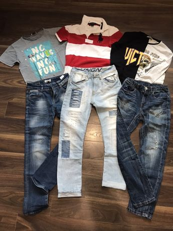 Zestaw ubrań chłopak 9-11 lat Vinginio Polo Ralph Lauren 300 zł!!!