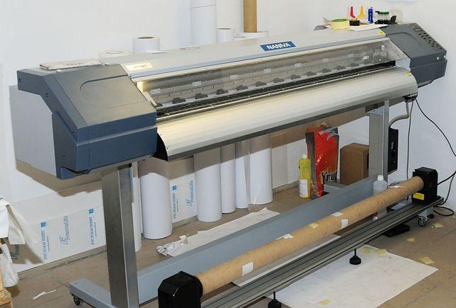 Ploter drukujący do Banerów, Naklejek, Eco, 1,6m.