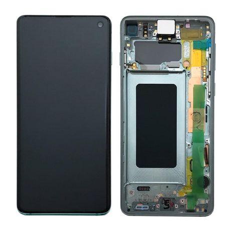 Wyświetlacz lcd szybka dotyk digitizer ekran ramka Samsung Galaxy S10