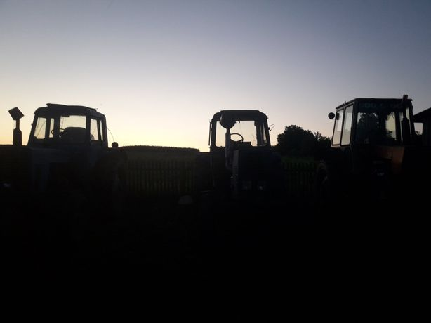 Трактор. МТЗ 80. ЮМЗ 6КЛ