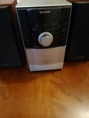 Aparelhagem Sony com 2 colunas