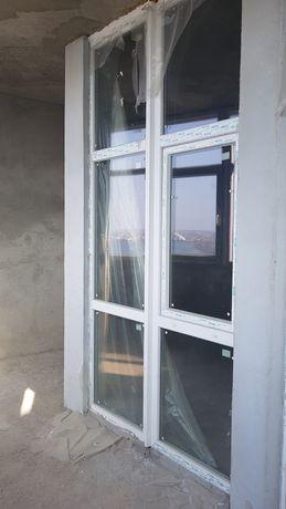 Продам металлопластиковые окна двери(перегородки)