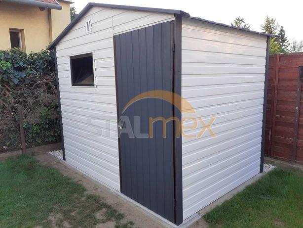 Domek ogrodowy/schowek na narzędzia/magazynek/garaż - panel poziomy