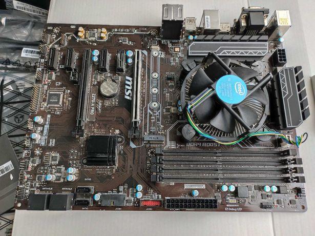 Motherboard MSI Z270-A PRO com CPU Celeron G3900 2 core 2.8GHz