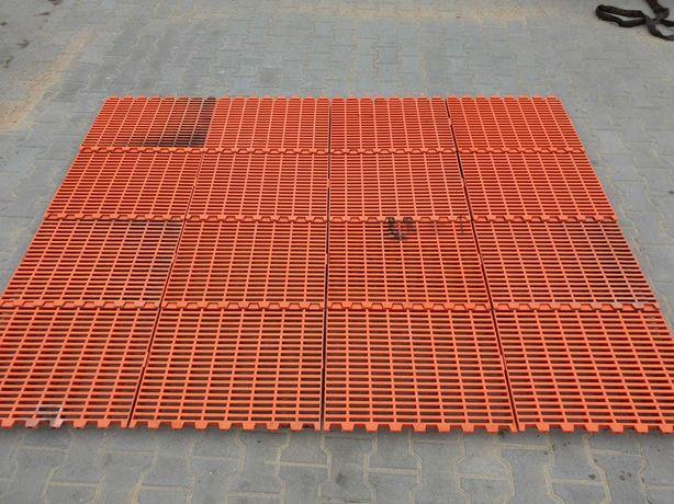 Podłoga rusztowa plastikowa ruszt plastikowy ruszta dla trzody prosiąt