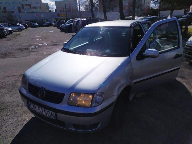 Volkswagen Polo 2001 r klimatyzacja 1.4 benzyna długie opłaty