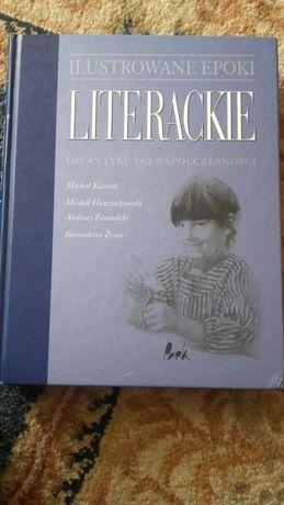 """Sprzedam """"Ilustrowane epoki literackie od antyku do współczesności"""""""