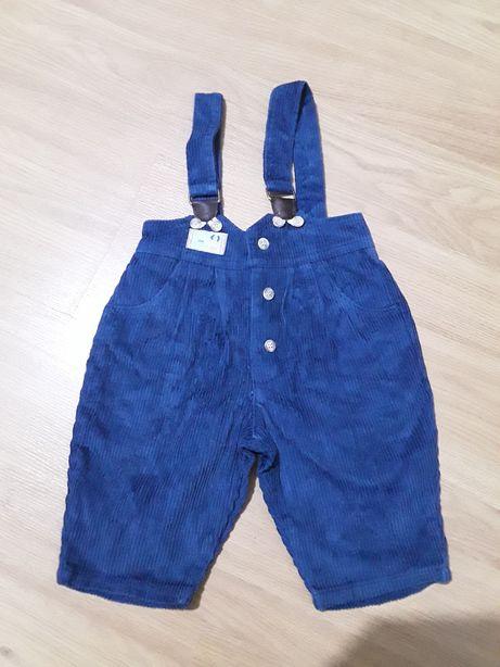 Jardineira azul bombazine 3 M