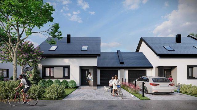 Nowe domy w Cegłowie