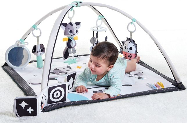Детский коврик tinu love - ночная лужайка