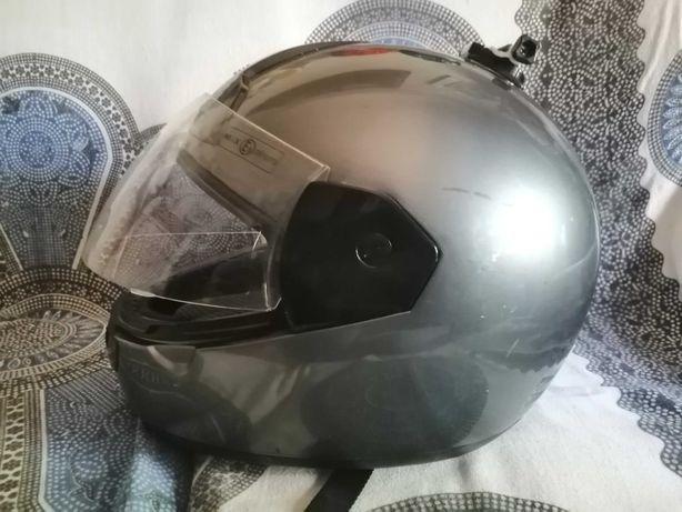 Capacete integral para mota de pista (MAX-603)