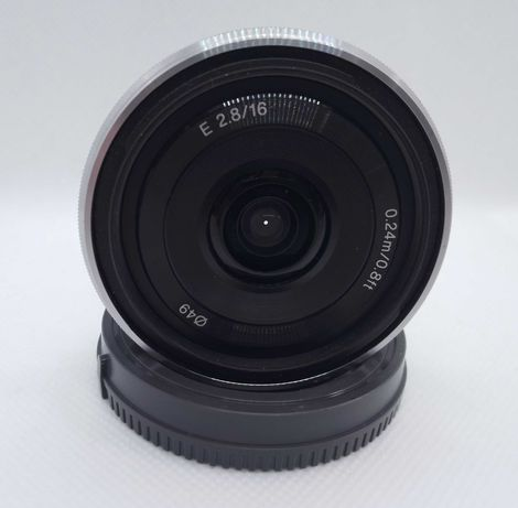 Objectiva Sony 16mm 2.8