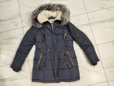 Пуховик, куртка зимняя теплая + подарок