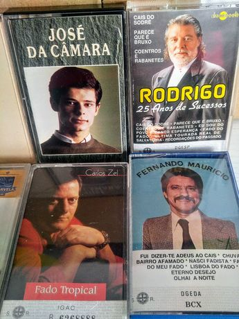 Cassetes Audio originais (SO ATE SEXTA FEIRA)$