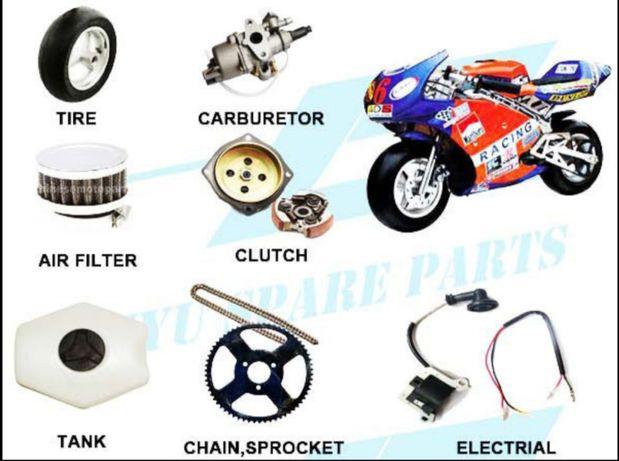 Peça para mini moto