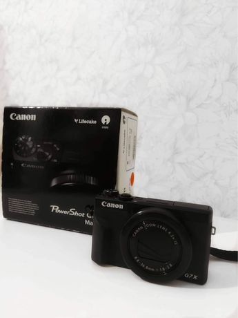 Canon PowerShot G7X Marklll 4k