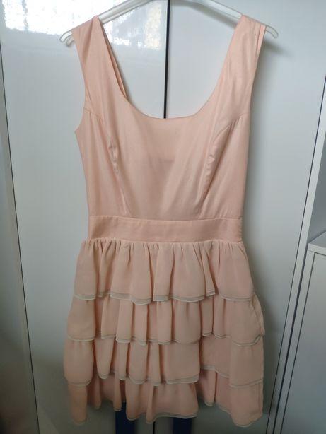 Sukienka łososiowa 38
