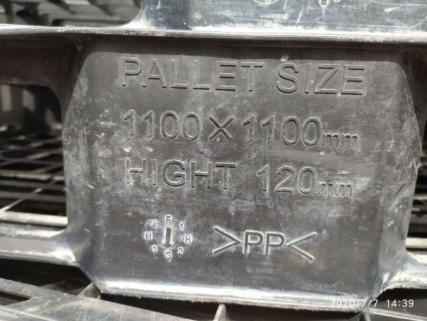 palety idealne pod Mauzera 1000l, 110x110, tworzywo