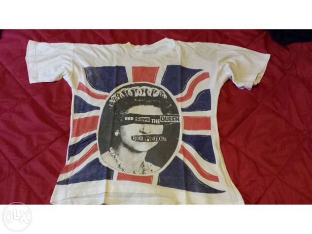 T-shirts sex pistols good save the queen