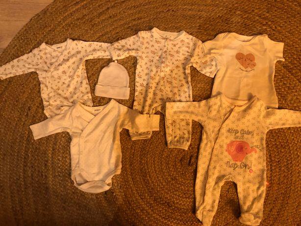 Ubranka dla noworodka Newbie