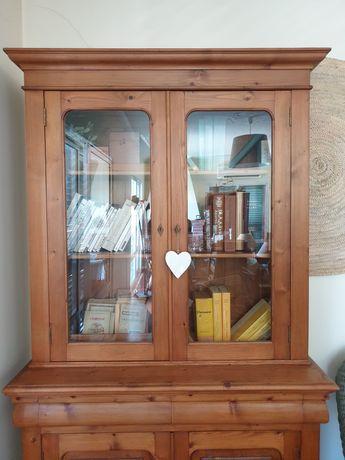 louceiro, vitrine, livreira, cristaleira, casquinha, vintage, rustico
