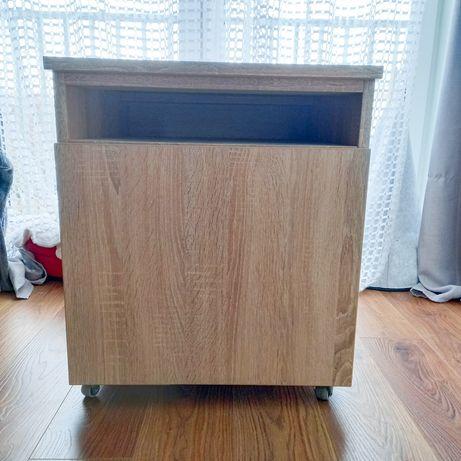 Dwie szafki biurowe na kółkach