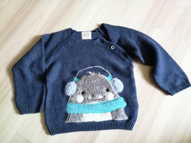 Coolclub Smyk sweter sweterek 74 6-9