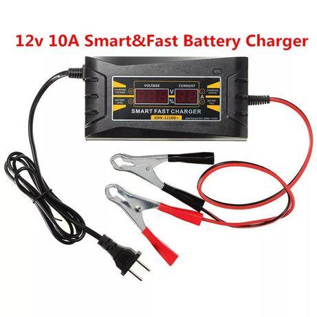 Зарядное устройство для авто мото аккумулятор 10А автоматическое Suoer