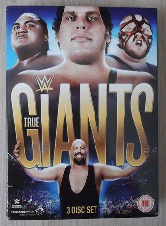 DVD de Wrestling/WWE True Giants