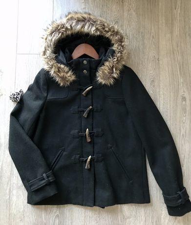 Пальто шерстяное Naf Naf 36 р(S-M) Новое!