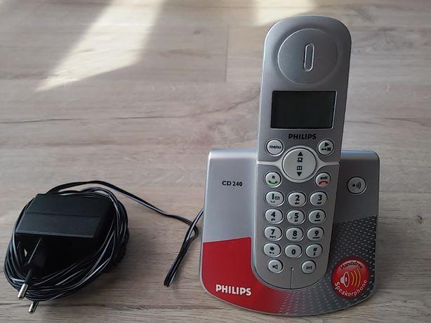 Telefon bezprzewodowy Philips CD240