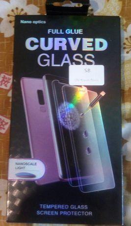 Hartowane szkło, S8 UV Nano Glass NOWE