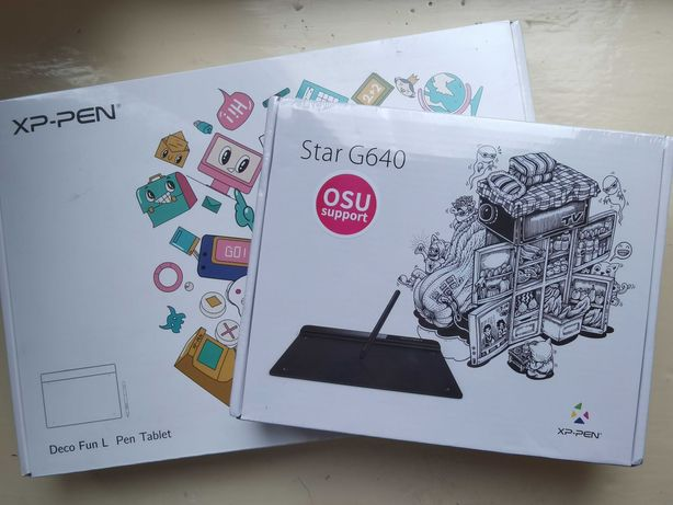 Графический планшет XP-Pen Star G640 и Deco Fun L 10x6 дюймов
