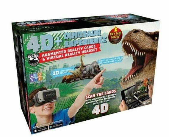 Новые 3D очки+Карточки Динозавров