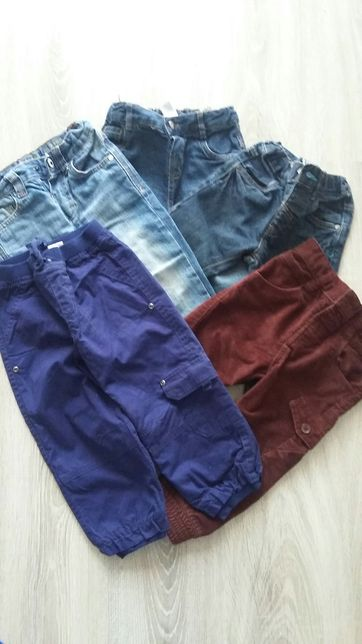 5 par spodni r.86 -92
